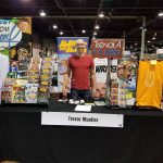 trevor mueller at wizard world chicago artist alley 2018