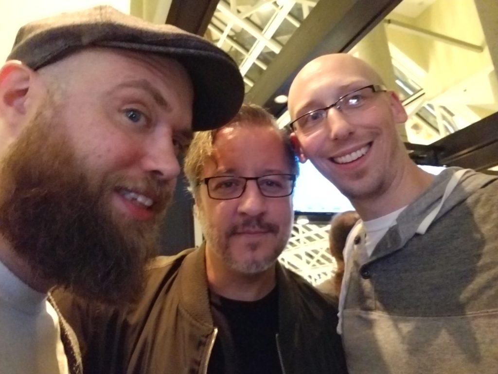 dean haspiel and trevor mueller at baltimore comic con 2018