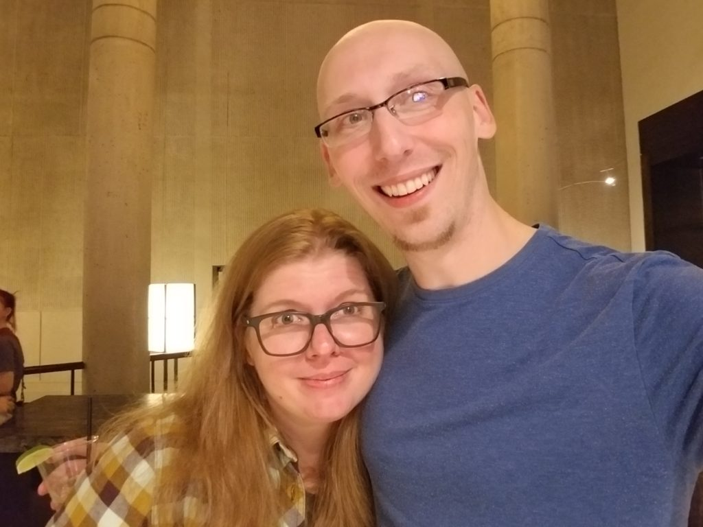 katie cook and trevor mueller at baltimore comic con 2018