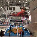 new york comic con 2018 the walking dead banner