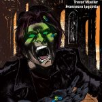 los ojos comic book cover art by francesco iaquinta horror comic written by trevor mueller