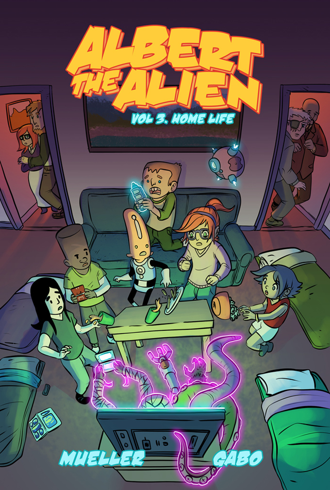 albert the alien volume 3 kids comic book graphic novel art by gabo written by trevor mueller