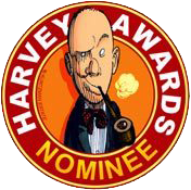 harvey awards comic con nominee logo
