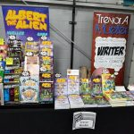 trevor mueller artist alley table mighty con milwaukee 2019