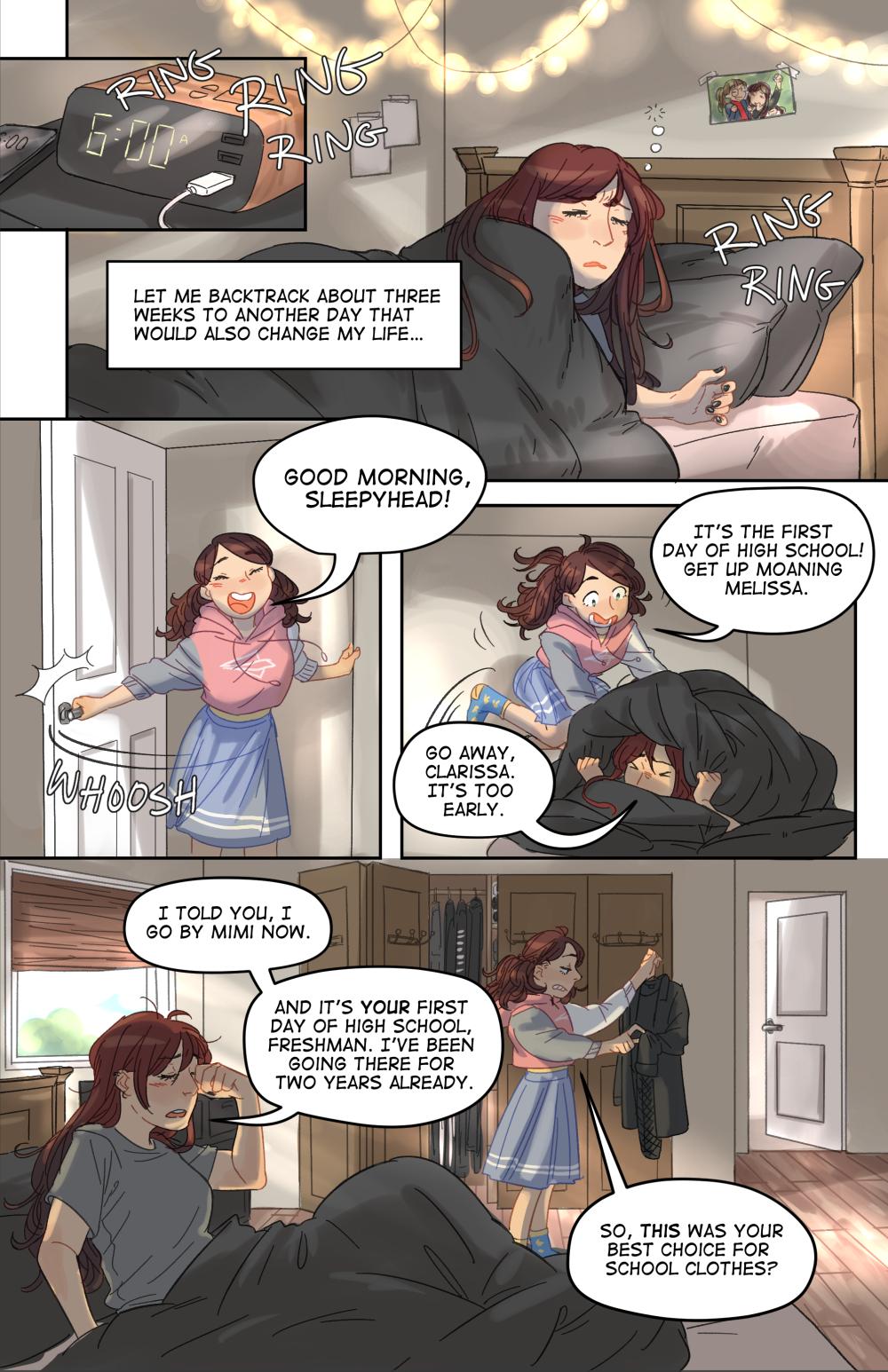 witches comic book art by deanna li written by trevor mueller