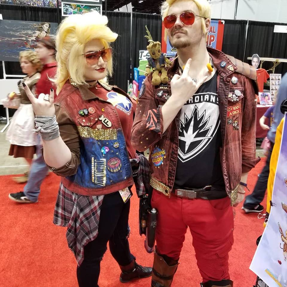 c2e2 cosplay guardians of the galaxy ravegers