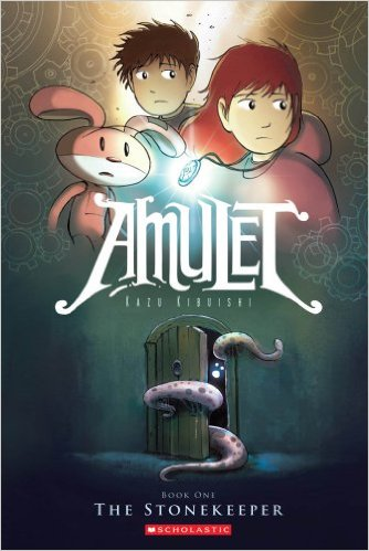 Amulet fantasy book for teens by kazu kibuishi