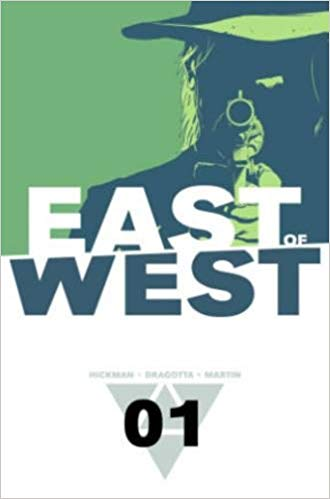 East of West by Image comics written by Johnathan Hickman