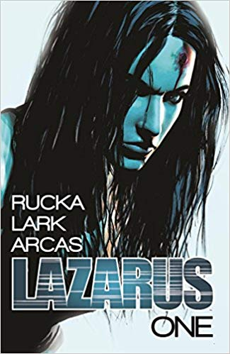 Greg Rucka writes scifi action story lazarus from image comics