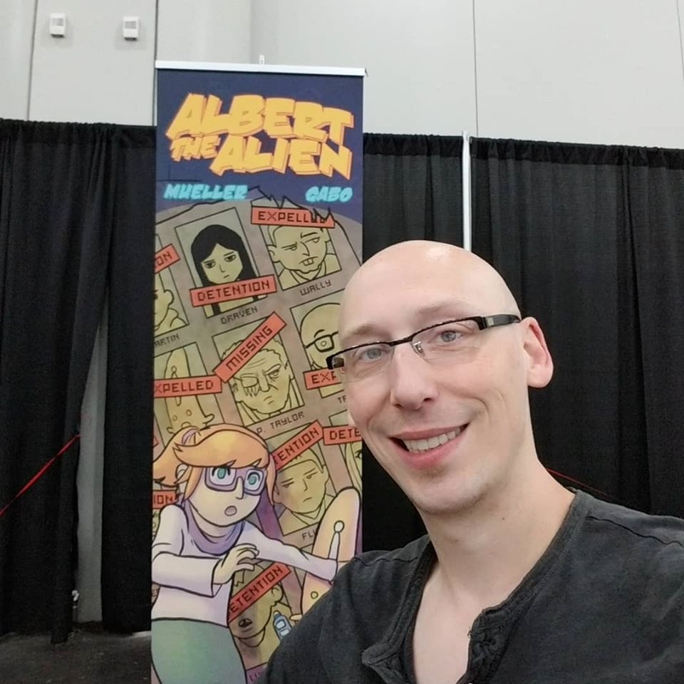 trevor mueller, nycc, new york comic con, reading with pictures, albert the alien
