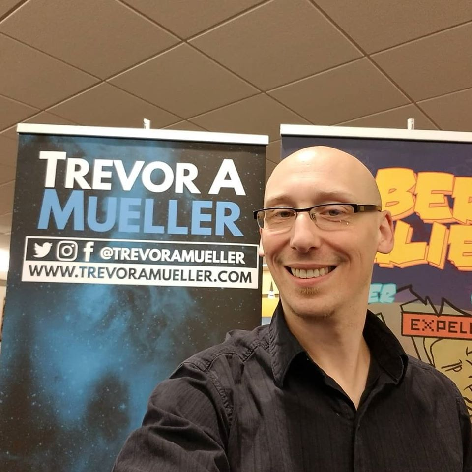 vernon bills mini con artist alley trevor mueller