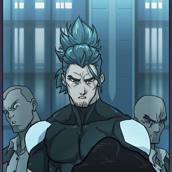 jack travis from nexus webtoon