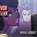 trevor mueller two geeks talking interview of webtoon series nexus point